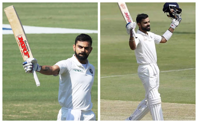 Virat Kohli Test Cricket Pics