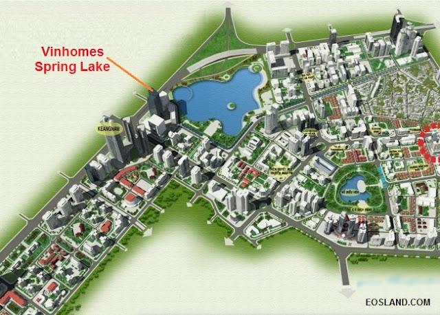 Phối cảnh Vinhomes Spring Lake Phạm Hùng
