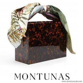Meghan Markle carried Montunas mini guaria bag