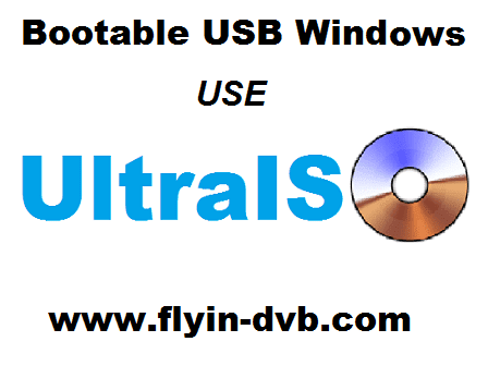 Cara Membuat Bootable USB Installer Windows Menggunakan UltraISO