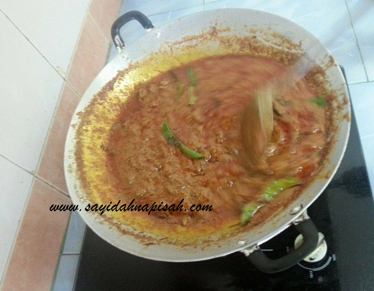 cara masak rendang