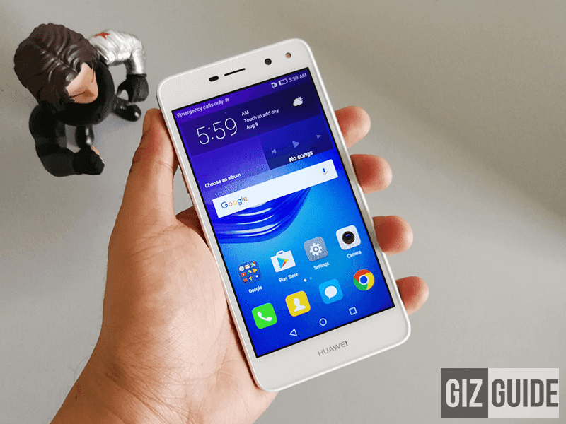 It could hold upwards the device that tin render corking overall sense fifty-fifty if your budget is v Huawei Y5 2017 Review - The Affordable All Rounder