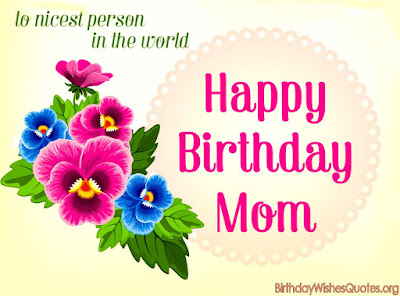 Happy Birthday Mom Wishes Image