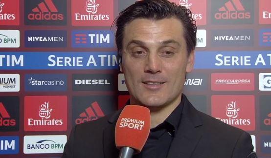 Le parole di Montella intervistato nel post partita di Milan Juventus 0-2