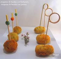 Croquetas de bacalao de patatas y de bechamel