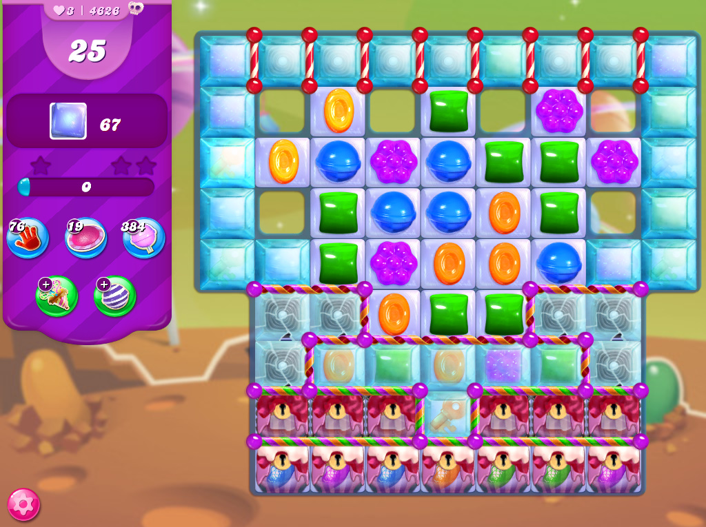 Candy Crush Saga level 4626