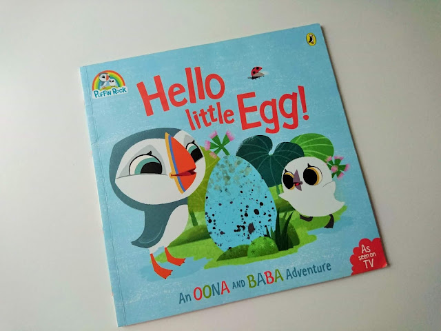Hello Little Egg Book Review - What we're reading - Hello Little Egg - Puffin Rock