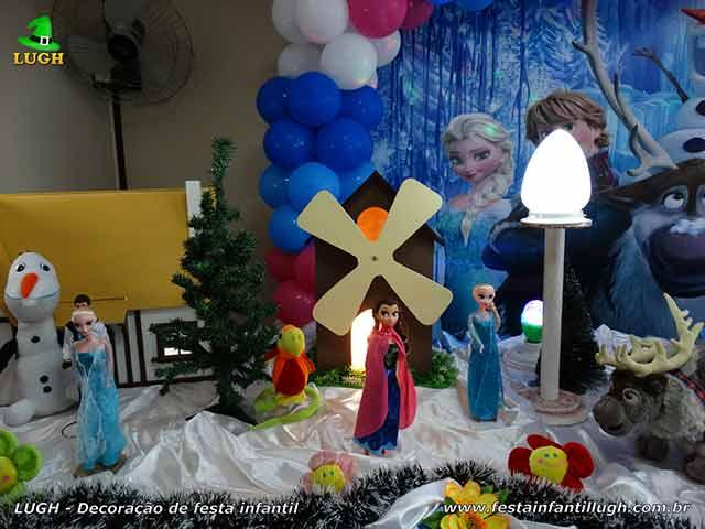 Festa infantil Frozen - Decoração de aniversário