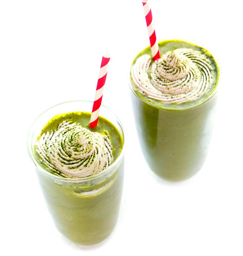 Copycat Green Tea Frappuccino