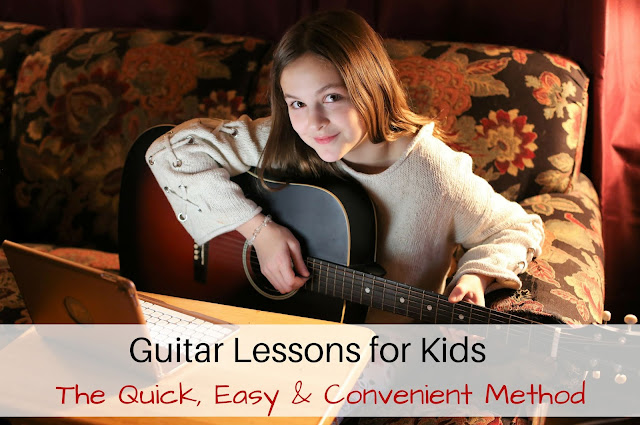 Guitar Lessons for Kids - The Quick, Easy & Convenient Method