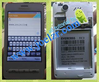 Cara Flash Evercoss TC2 Tested