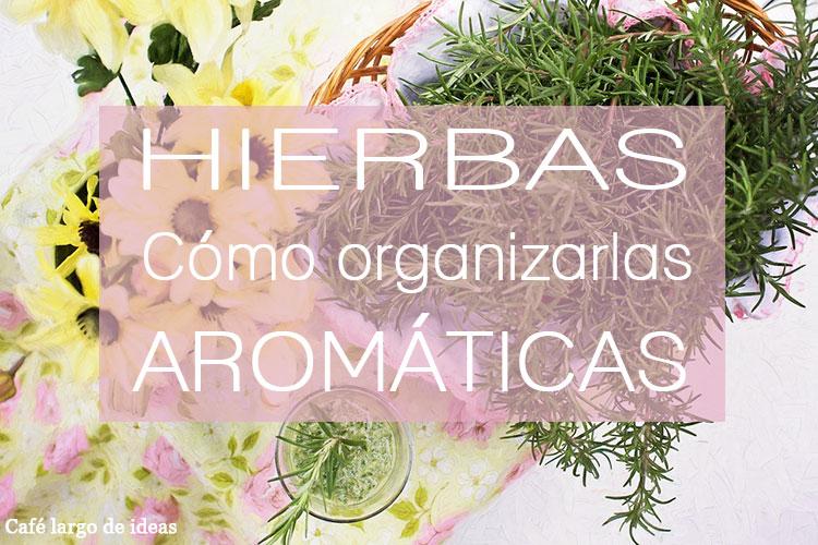 Cómo organizar las hierbas aromáticas