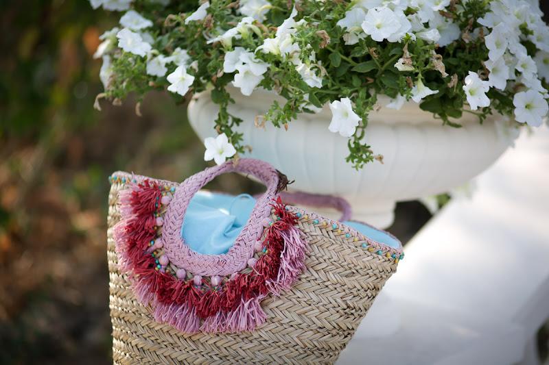 соломенная сумка для лета