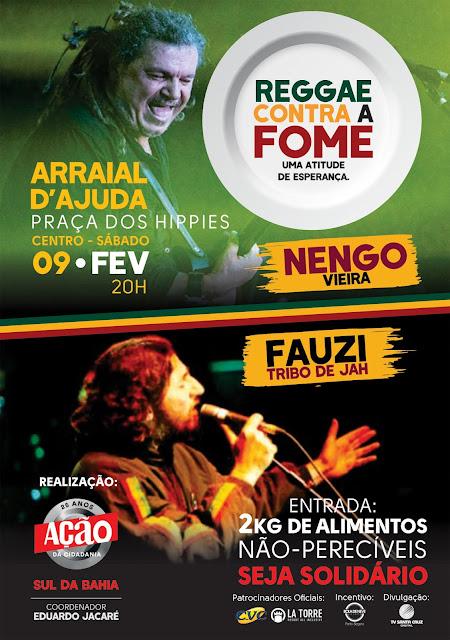 Reggae Contra a Fome Arraial Dajuda
