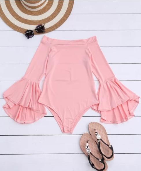 Bodysuits pink