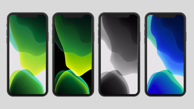 download iOS 13 Stock Wallpapers