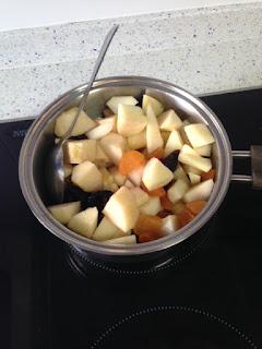 Cocer frutas
