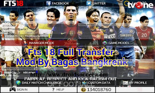 FTS 18 Special Mod by Bagas Bangkrenk Apk + Data Obb