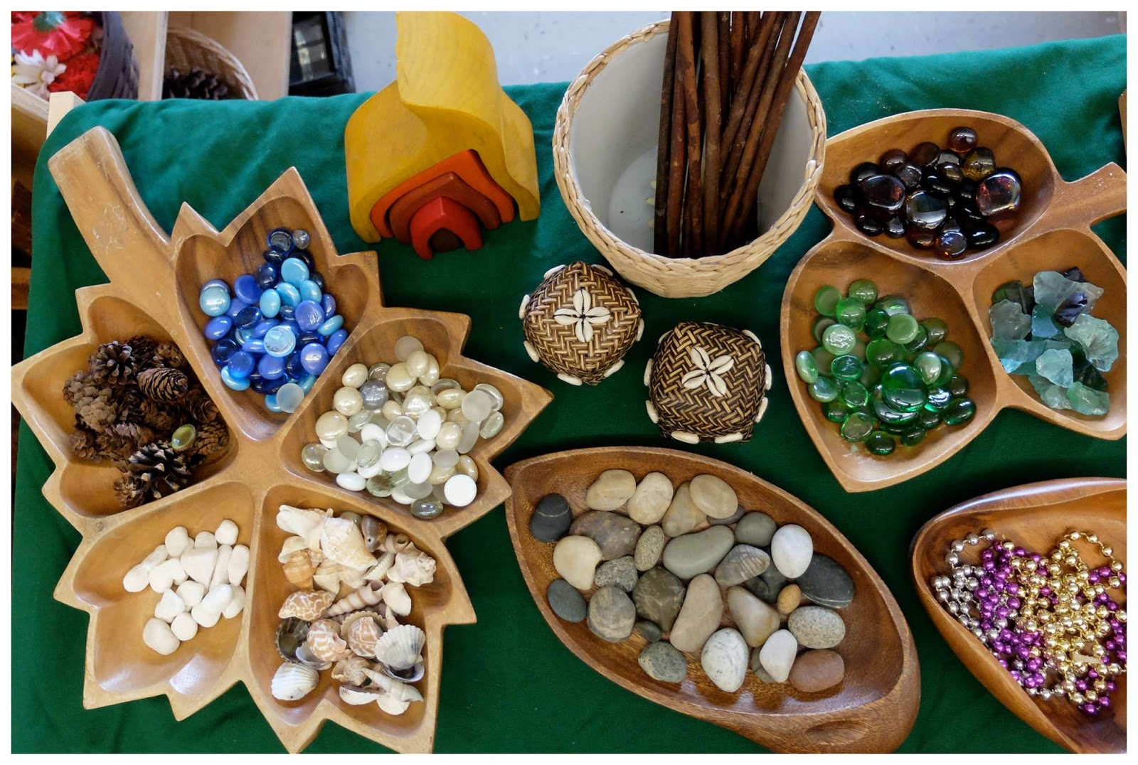 Invitation To Learn Loose Parts In A Frame