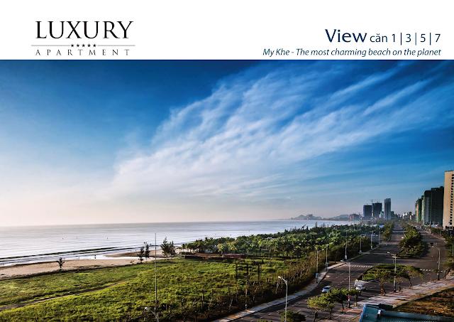 View căn hộ 01, 03, 05, 07 dự án Luxury Apartment