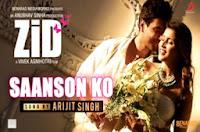 Saanson Ko Chords - Arijit Singh | ZiD