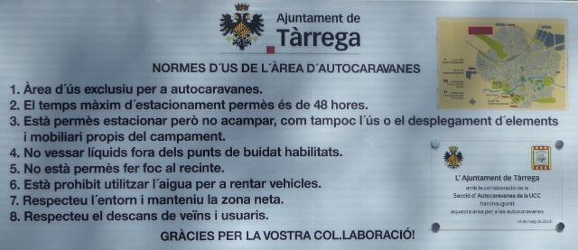 Normes d'ús de l'àrea