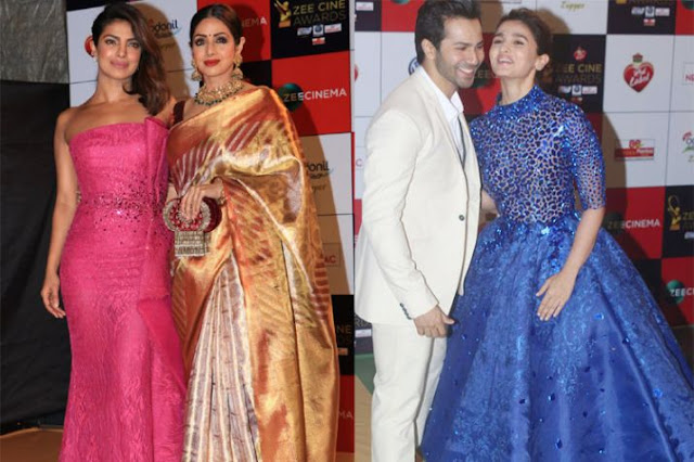 Bollywood-Celebrities-Dazzled-at-Red-Carpet-Zee-Cine-award-2018