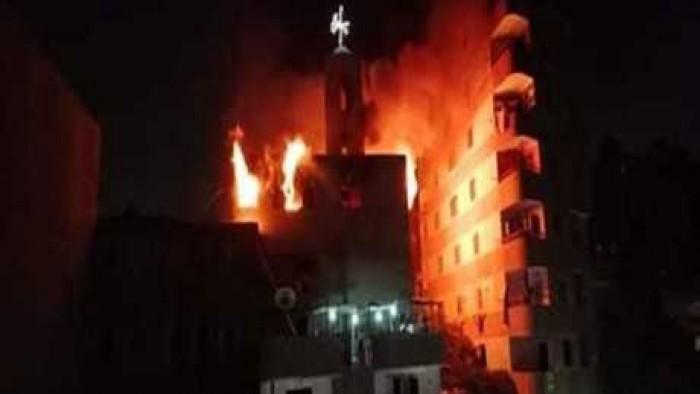 حريق كنيسة عين شمس