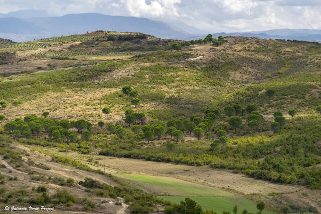 Paisaje desde Apolonia de Iliria - Albania por El Guisante Verde Project