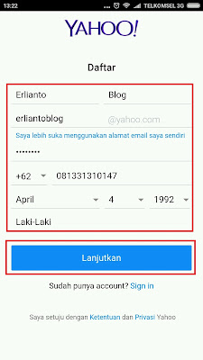 Yahoo Indonesia Pendaftaran Yahoo | Daftar Yahoo Indonesia Lewat Hp