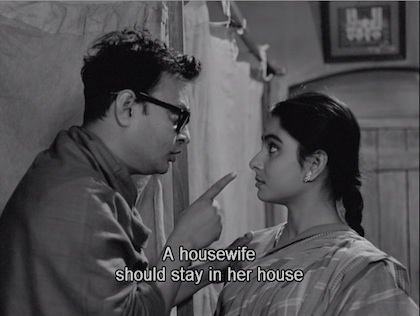A housewife should stay in her house