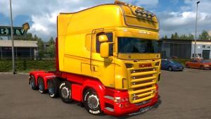 Scania RJL truck