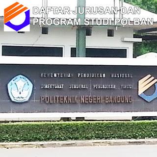 Daftar Lengkap Jurusan dan Program Studi POLBAN Politeknik Negeri Bandung