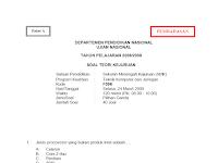 Download Soal dan Jawaban UN TKJ Tahun 2008/2009 Paket A