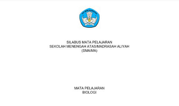 Silabus Biologi SMA-SMK-MA Kurikulum 2013 Revisi 2017 pdf
