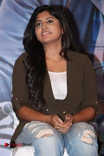 Actress Manjima Mohan Stills in Ripped Jeans at AYM Pressmeet  0002