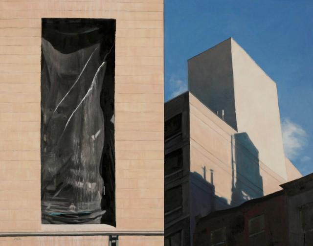 Городской пейзаж. Patty Neal 10