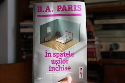 In spatele usilor inchise de B. A. Paris. Recenzie