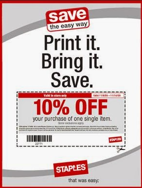 photo regarding Staples Coupon Printable known as Staples coupon printable september 2018 - Splendor bargains within just