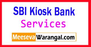 meeseva bank మీ సేవలో బ్యాం కు  సర్వీసు Kiosk Bank