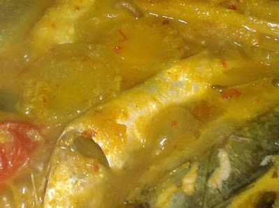 Resep Ikan Kembung Kuah Kuning