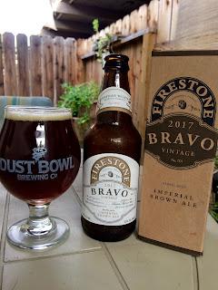 Firestone Walker Bravo Barrel Aged Imperial Brown Ale 1