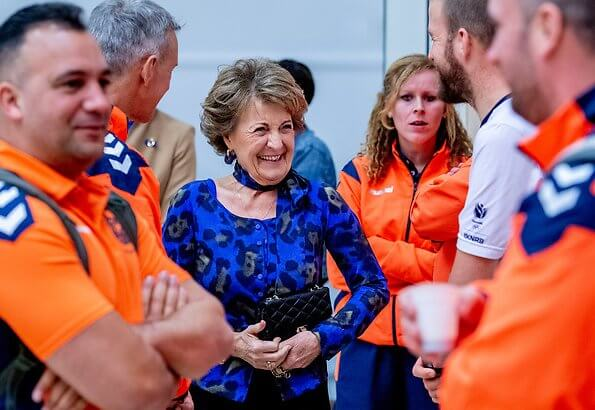 Princess Margriet is honorary chairman of Invictus Games 2020. The Invictus Games was created by the Duke of Sussex. Meghan Markle