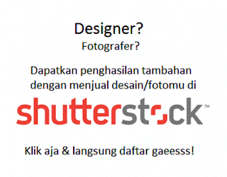 Dapat UANG dari ShutterStock!