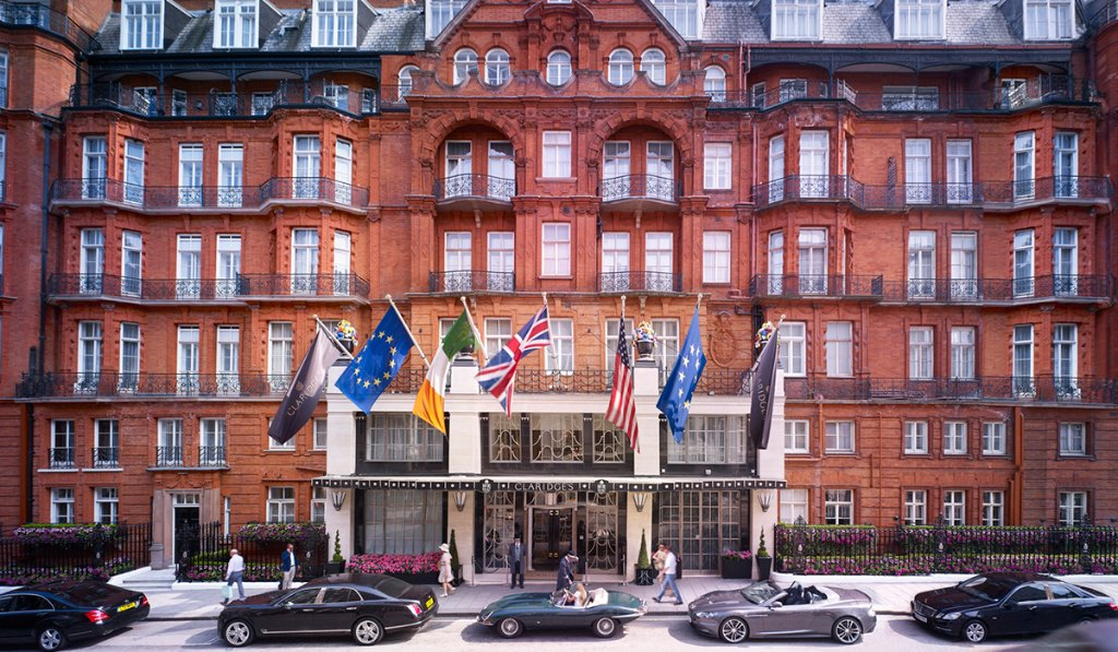 Claridges, London, best hotels I've stayed at