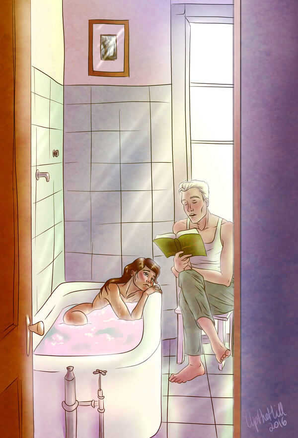 50 Romantic and Sensual Illustrations Depicting the Feeling of Love