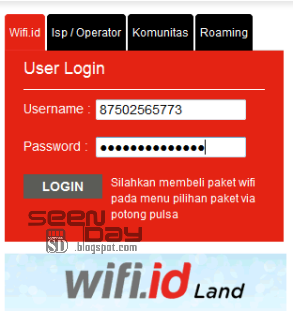 Cara Login / menggunakan Voucher Wifi id Telkom (@wifi.id)