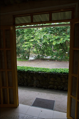 The river is truly across the street from the front door, casa del rio, rio mocoa, Chris Baer, Colombia