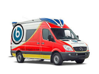 Mercedes Benz Sprinter, ambulance Delfis