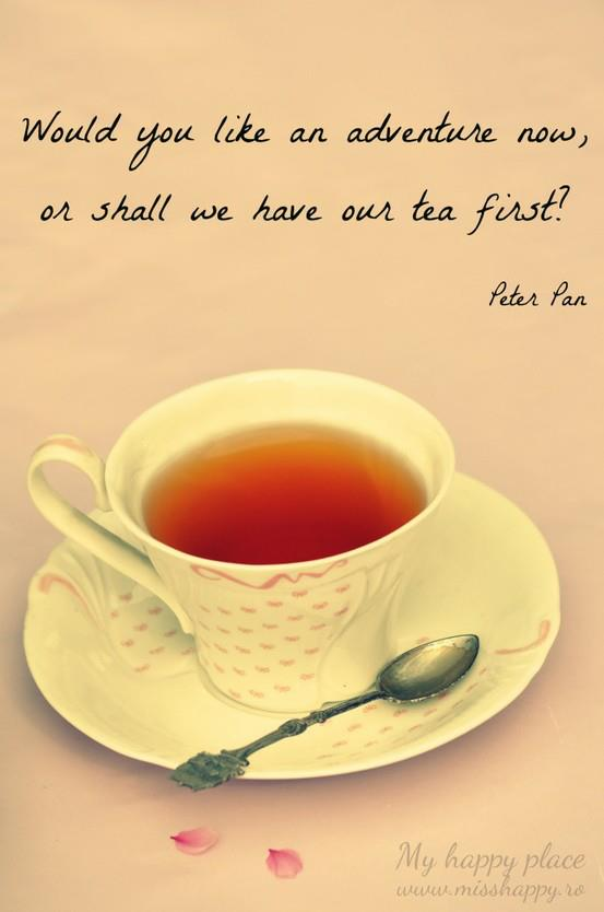 Tea Peter Pan Quote